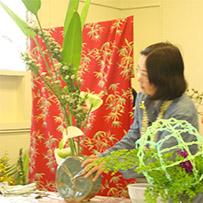 Happiness Planting Festibal Ikebana Class